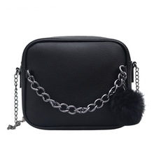 IMYOK 2018 Small Chain Women Bag Women Leather Handbag Women Messenger Bags PU Shoulder Crossbody Bag Ball Toy Bolsa C08