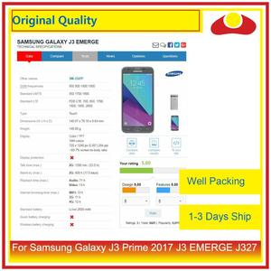 "Image 5 - Pantalla LCD Original de 5,0 ""para Samsung Galaxy J3 Prime 2017 J3 EMERGE J327 con Panel digitalizador de Pantalla táctil completa"