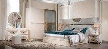 Купить с кэшбэком golden bedroom furniture set