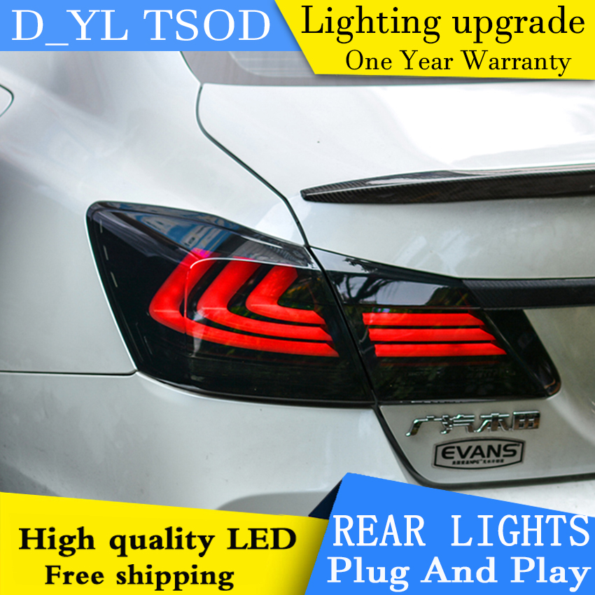 car styling taillamp for honda accord tail lights 2014 2016 for accord led rear light tail lamp. Black Bedroom Furniture Sets. Home Design Ideas