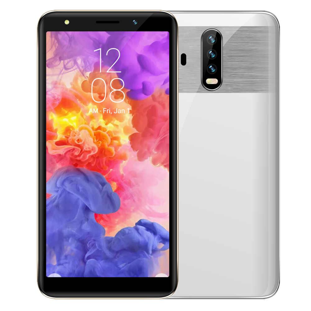 Smartphones d'origine Quad core 3 grammes + 16GROM 8.0 MP Android OS MTK téléphones portables 3G WCDMA téléphones mobiles débloqués