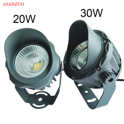 Outdoor Lighting 20W 30W COB LED Spotlight Flood Lights for Garden Yard Landscapes Building Wall Projection Lamps