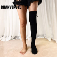 2017 Winter Boots Women Shoes Over The Knee Boots Thigh High Boots Slim Style 35 42