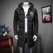 2017 new plus size 8XL 7xl 6Xl Men Winter Casual New Thick Padded Jacket Zipper Loose Men Coats X-long Parka Outwear Warm hooded