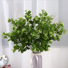 High-grade simulation with fruit money leaf eucalyptus leaves wedding home decoration green plants