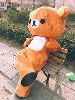 Высокое качество настроить Janpan Rilakkuma талисман CostumesJanpan Rilakkuma Медведь Талисман Костюмы
