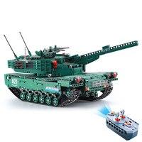 Remote Control RC Tank Building Block Brick Toy