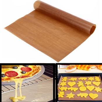 1pcs Warm Reusable Non Stick Baking Paper High Temperature Resistant Teflon Sheet Oven Microwave Grill Baking Mat