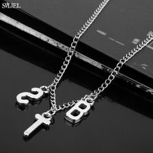 SMJEL Fashion Jimin ARMY BT Letter Collares Necklace for Women Men Kpop Bangtan Boys Jewelry Korean Choker Gifts for Friend(China)