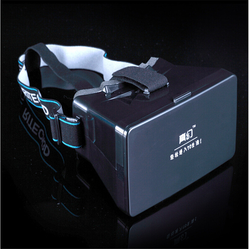 Hot Sale Google Cardboard Virtual Reality VR 3D Mobile Phone 3D Glasses 3D Movies Games With Resin Lens For 3.5 to 5″ Smartphone