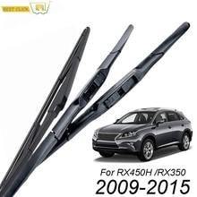 Misima лобового стекла автомобиля стеклоочистителей для Lexus RX450H RX350 RX-450h RX-350 спереди Защита от солнца на заднее стекло 2009 2010 2011 2012 2013