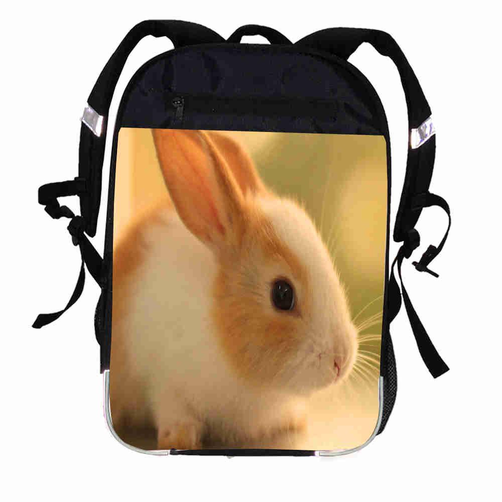 Rabbit Custom Made Print Backpack Space Spacecraft Universe Movie Boys  Girls Women Men Travel School Bags 2910d6f4fbf4