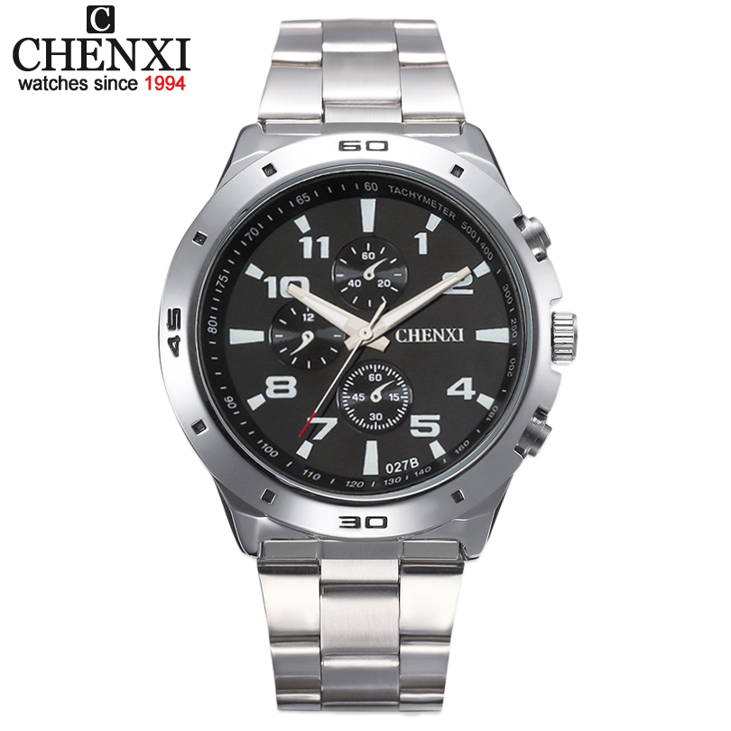 chenxi watch men military relogio masculino quartz-watch mens watches top brand luxury sport wristwatch mens fashion brand 2017