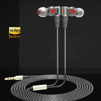 Pizen NEW SENFER XBA 6in1 1DD 2BA Hybrid 3 Drive Unit In Ear Earphone DJ HIFI