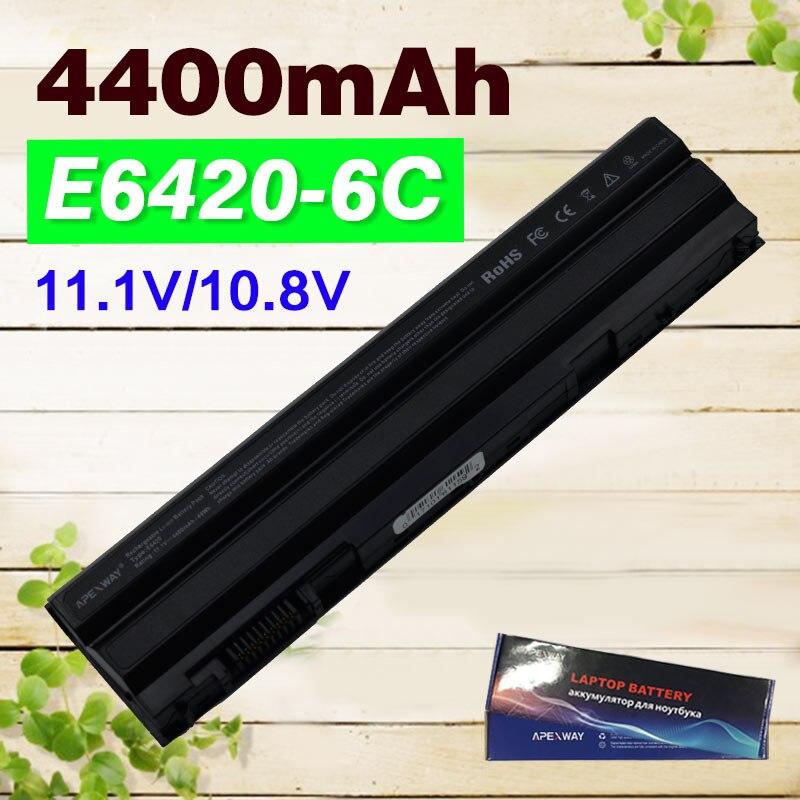 4400mAh Laptop Battery for Dell Latitude t54fj E5430 E5520 E5520m E5530 E6120 E6420 E6420 E6430 E6520 8858x for Vostro 3460 3560