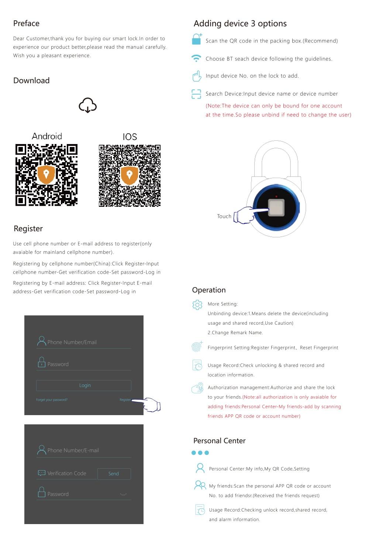 HTB1ZHHnQrvpK1RjSZFqq6AXUVXac Waterproof Keyless Fingerprint Smart lock APP / Fingerprint Unlock Anti-Theft Padlock Door Lock for Android iOS System cabinet