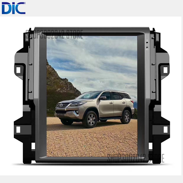 US $619 48 |DLC Android vertical screen 6 0 navigation video player GPS  multifunction canbus video For toyota Fortuner 2016 2017 -in Car Multimedia