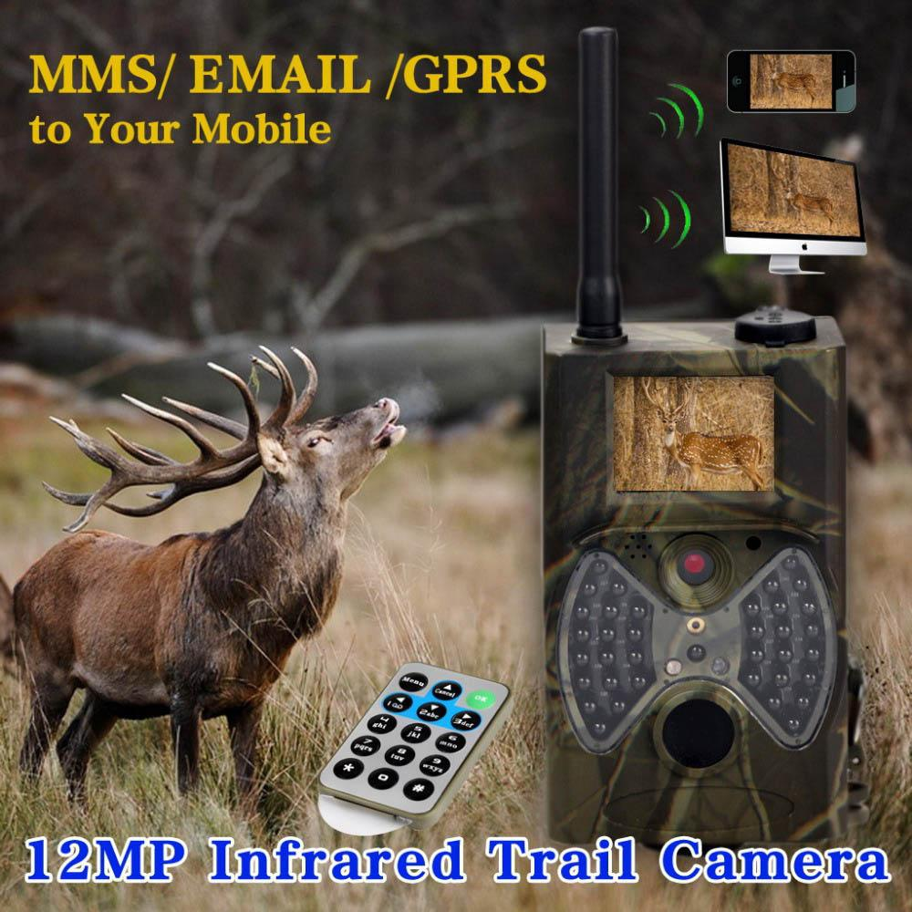 12MP 1080P HD Game & Trail Hunting Camera No Glow Infrared Scouting Camera Night Vision up to 75ft with 36pcs 940nm IR LEDs