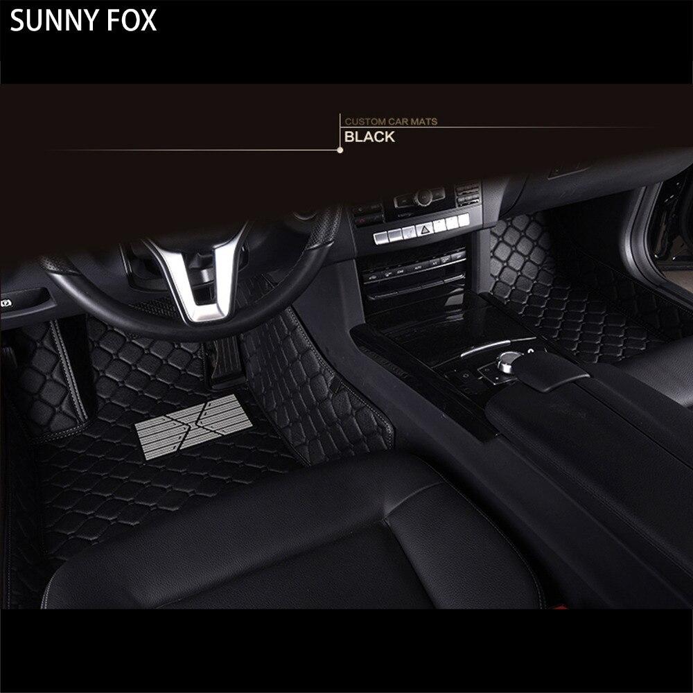 Sunny FOX tapis de sol de voiture pour Subaru Forester Legacy Outback XV 5D revêtement de sol de tapis résistant à tous les temps