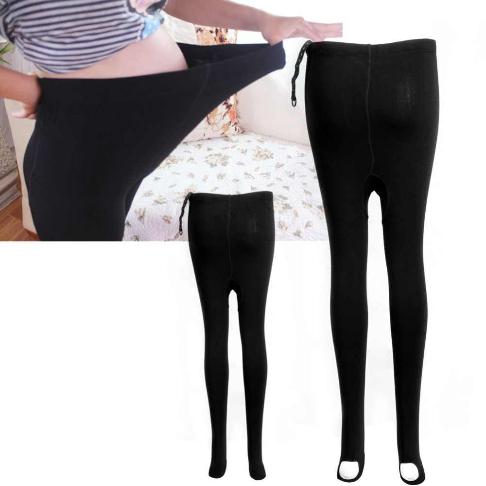 0b26083bf32e2 Detail Feedback Questions about Black Pregnant Women Thick Comfortable  Warmer Leggings Maternity Pants on Aliexpress.com | alibaba group