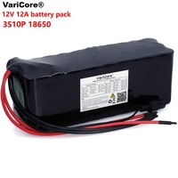 VariCore 12 V 20000mAh 18650 lithium battery miner's lamp Discharge 20A 240W xenon lamp Battery pack with PCB