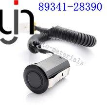 10pcs PDC ULTRASONIC Parking Sensor 89341-28390 For TOYOTA previa acr30 TARAGO CLR30 ESTIMA ACR30 black white silvery color