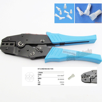 Crimping Cap Crimper Plier 0 5 6 Sq Mm AWG20 10 For Insulated Close Terminals
