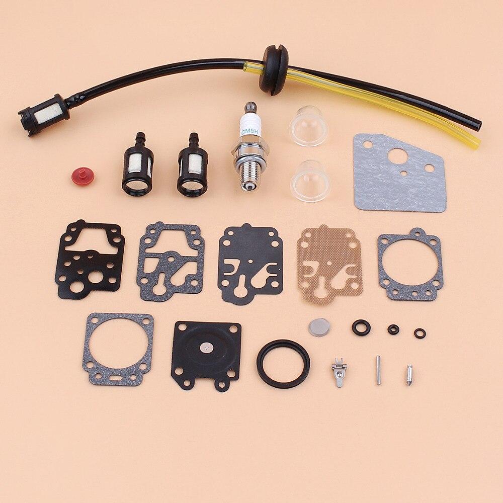 Carburador Junta Conjunto diversas 43cc /& 52cc Cortacésped
