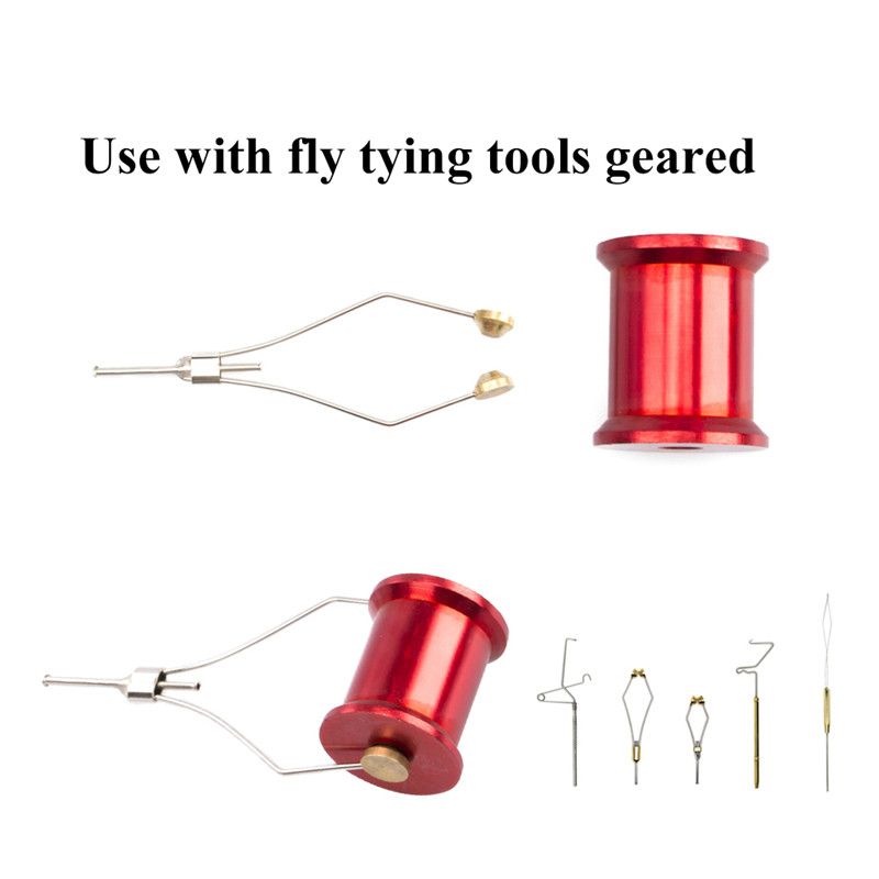 Fishing Fly Tying Whip Finisher Bobbin Thread Holder Lure Bait Making Processing Fishing Tools 2019