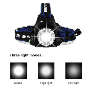 Image 4 - DropshippingPowerful T6 L2 headlights headlamp Zoom waterproof 18650 rechargeable battery Led Head Lamp Camping Hiking Light