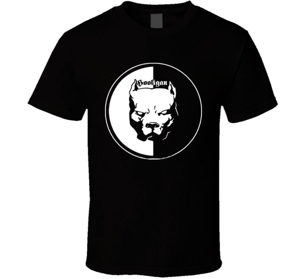Колдун хулиган питбуль футболка Hipster Брендовая детская одежда от harajuku футболка новые летние принт хлопка человека Мода