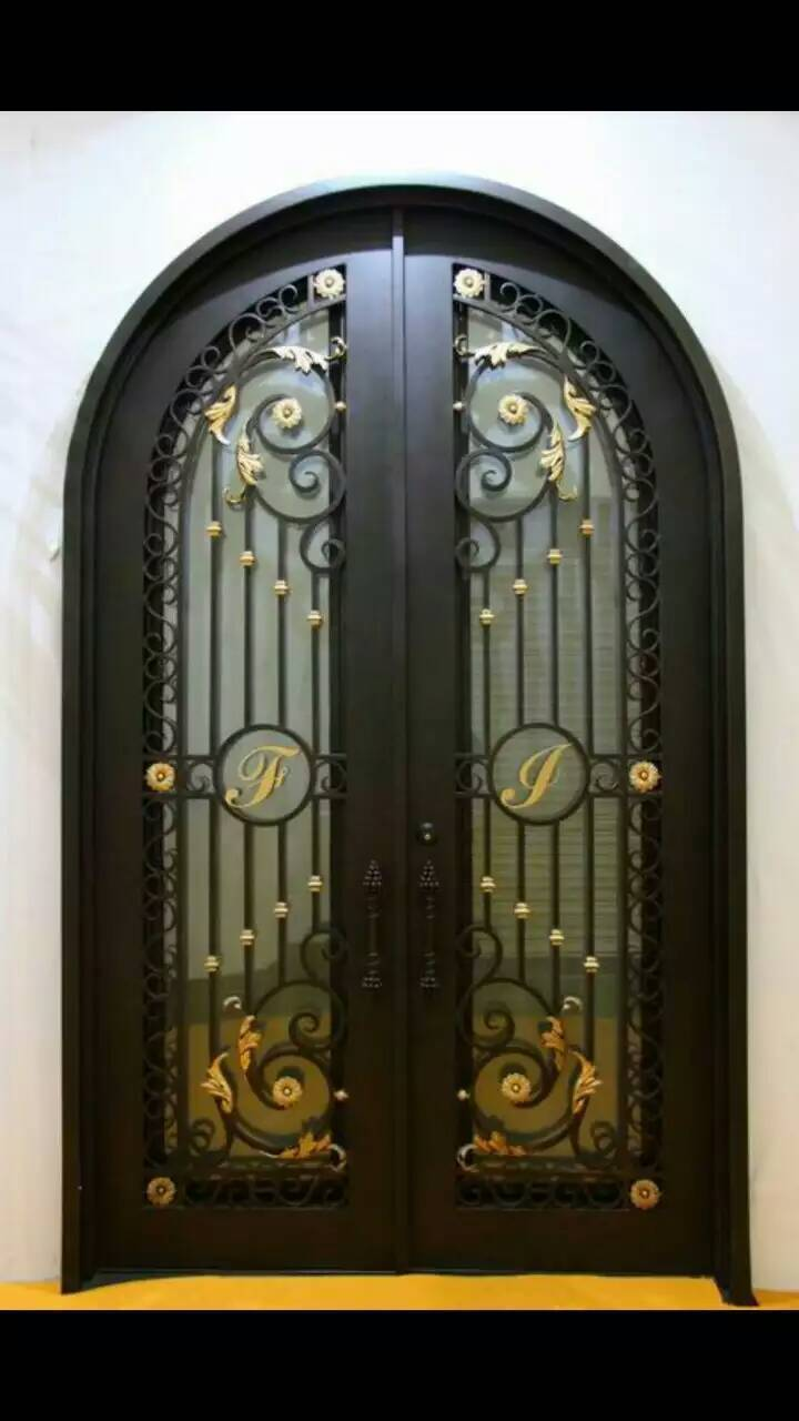 Single Door Iron Gate Designs Cost Of Iron Entry Doors