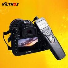 Viltrox MC-C3 LCD Temporizador Disparador de Obturador Remoto Cabo de Controle para Canon 7D II 5D 6D 5D 50D 40D 30D 20D 10D 1D Mark IV 5 DIII