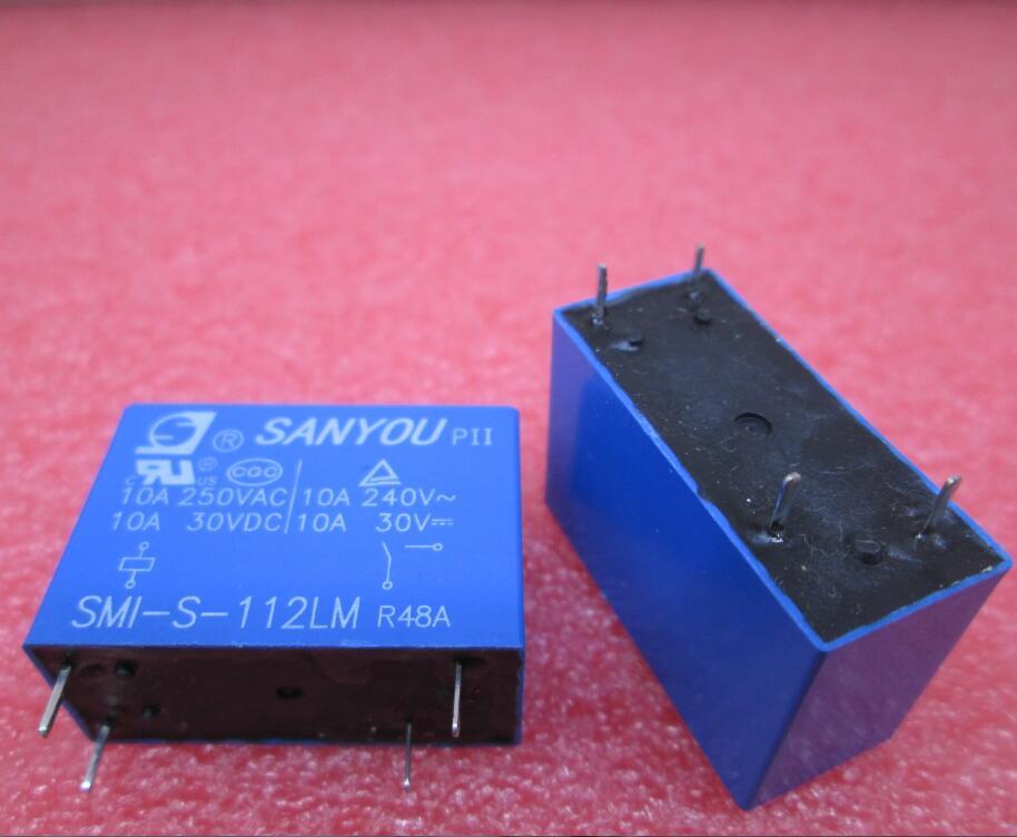 HOT NEW relay SMI-S-112LM SMI-S SMI 112LM 12VDC 10A 250VAC DC12V 12v DIP4 new 12v relay nt73 2c 12 dc12v nt73 2c s12 dc12v nt73 2c 12 12vdc nt732cs12 dc12v 12vdc 12v 6a 250vac 5pin