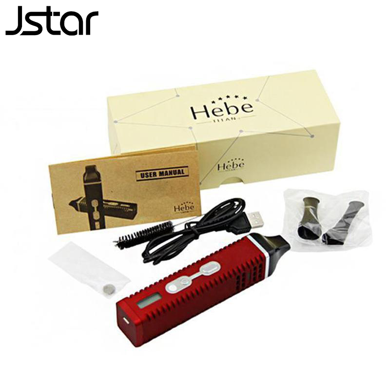 Jstar Hebe Titan 2 kit Dry herbal Vaporizer e cigarette Titan II Dry herbs Vaporizer pen titan 2200mAh Battery LCD Display инвалидная коляска titan deutschland gmbh caneo e ly 710 2201