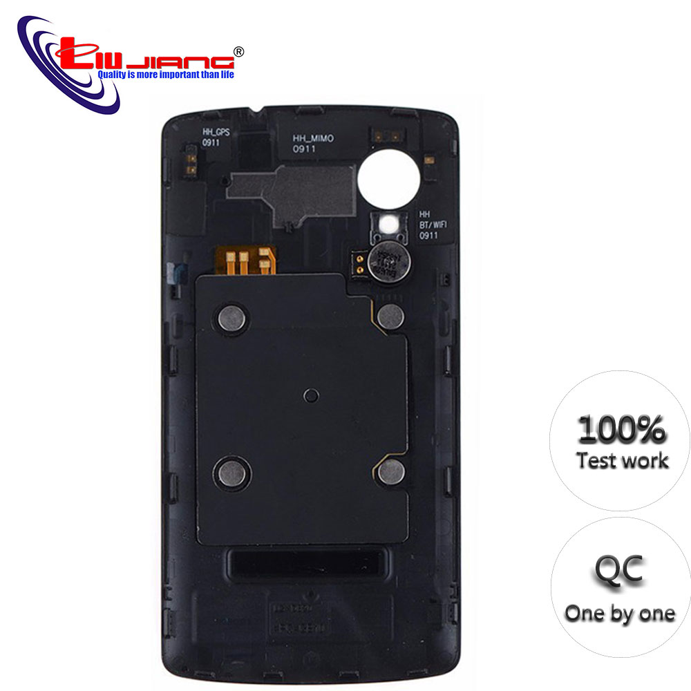 New Battery Door Back Case For LG For Nexus 5 D820 D821 Battery Cover Rear Door Housing Replacement Parts