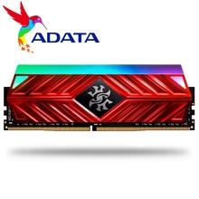 ADATA Module de mémoire de bureau XPG D41, RAM PC 8go 16go 2x8 go DDR4 PC4, 3200Mhz 3000MHZ 2666MHZ DIMM 2666 3000MHZ