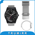 22mm Milanese Loop Strap Stainless Steel Band Magnetic Bracelet for LG G Watch W100/W110/Urbane W150 Pebble Time ASUS Zenwatch 2