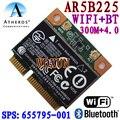Atheros AR5B225 WIFI media MINI PCI-E tarjeta Bluetooth Wireless 4.0 Exceed 6230 6235 300 M WIFI + 4.0BT