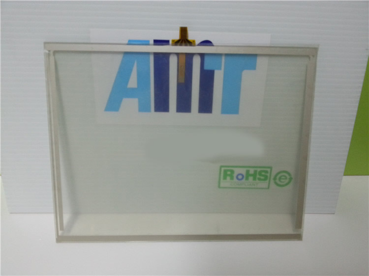 AMT9556 8 inch 4 wires Resistive Touch Glass Panel For machine Repair New Have in stock