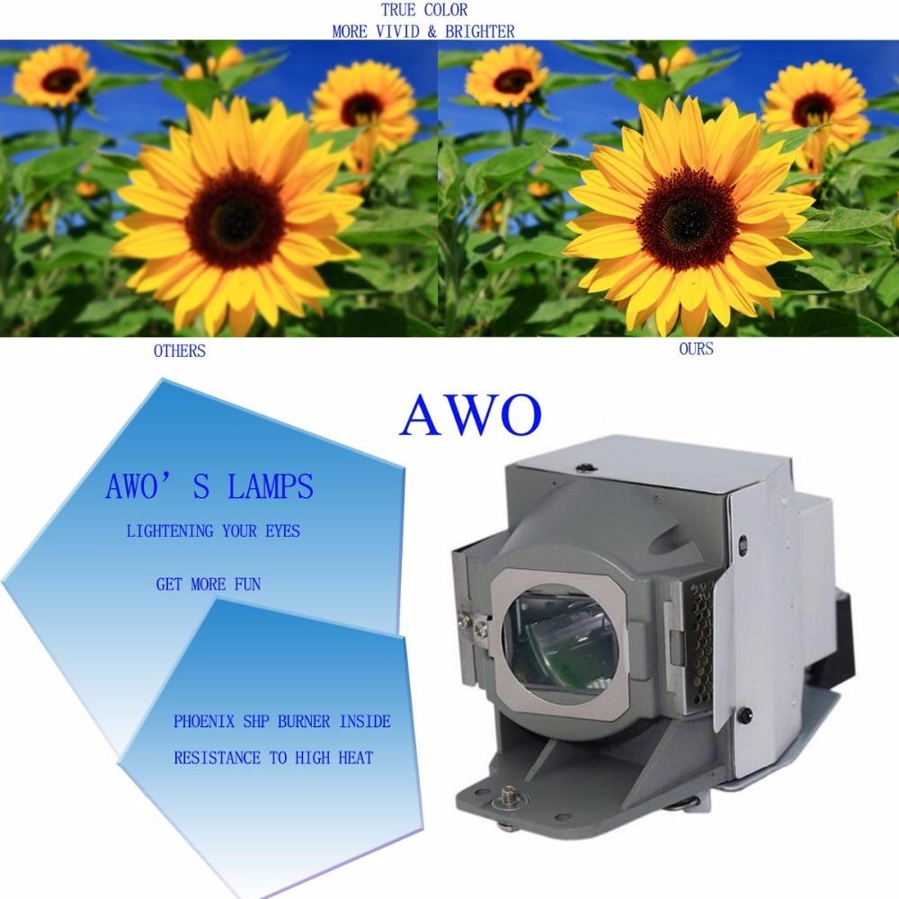 AWOs 5J.J7L05.001 Nadomestna sijalka projektorja s ohišjem za - Domači avdio in video - Fotografija 4
