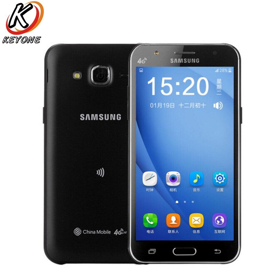 Originale Per Samsung GALAXY J5 J5008 4G LTE Mobile Phone 5.0 pollice 1.5 GB di RAM 16 GB ROM Snapdragon 410 1.2 GHz Quad Core 2600 mAh Telefono