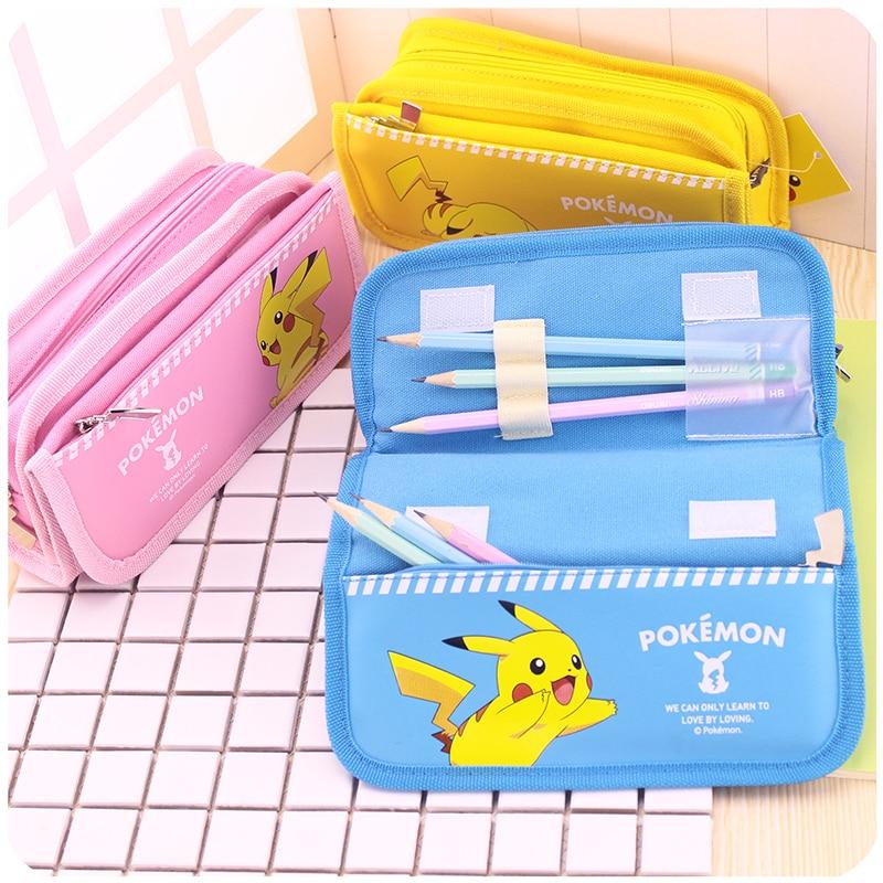1 Stück Bleistift Taschen Für Studenten Baumwolle Süßigkeiten Stoff Reißverschluss Federmäppchen Große Kapazität 3 Farben Deli 66730 Jade Weiß