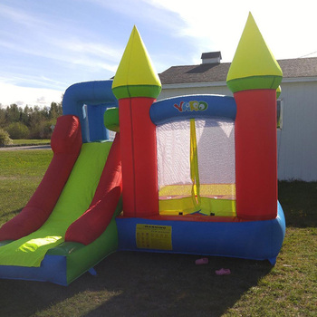YARD Inflatable Bounce House Inflatable Bouncer With Slide Jumpping Castle Inflatable Trampoline Kids Inflatable Games yard inflatable bounce house kids funny bouncy castle 3 5x3x2 7m with slide pvc inflatable games children jumping bouncer house