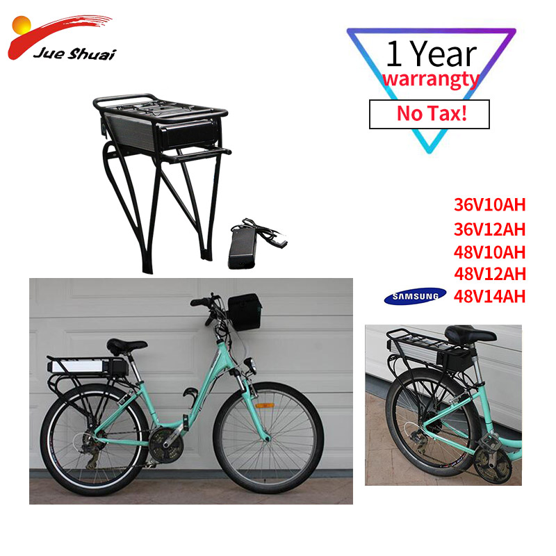 36V Electric Bike Kettle Battery Lithium Battery 10AH Samsung 12AH With Charger MTB 18650 Cells Ebike Battery for Free Shipping36V Electric Bike Kettle Battery Lithium Battery 10AH Samsung 12AH With Charger MTB 18650 Cells Ebike Battery for Free Shipping
