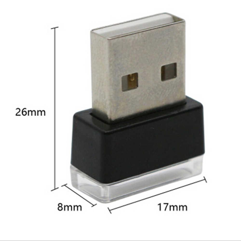 רכב סטיילינג USB אווירה LED מנורת אור עבור סובארו XV פורסטר אאוטבק Legacy אימפרזה XV BRZ טרייבקה