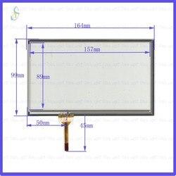 KDT-2981GT ZhiYuSun 164mm * 99mm painel de toque resistivo de 7 polegada para o Carro DVD, 164*99 GPS Navigator tela de vidro