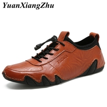 2019 Luxury Brand Men Shoes Loafers Fashion Top Quality Genuine Leather Moccasins Men Flats Male Casual Shoes Zapatos Hombre цена