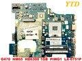 Оригинал для ноутбука Lenovo G470 motherboardG470 HM65 HD6300 1 ГБ PIWG1 LA-6751P Протестировано  бесплатная доставка