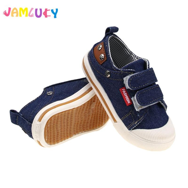 Comfy Kids Shoes For Girls Boys Sneakers Children Casual Jeans Canvas Shoes Kids Solid Denim Canvas Non-slip Single Shoes